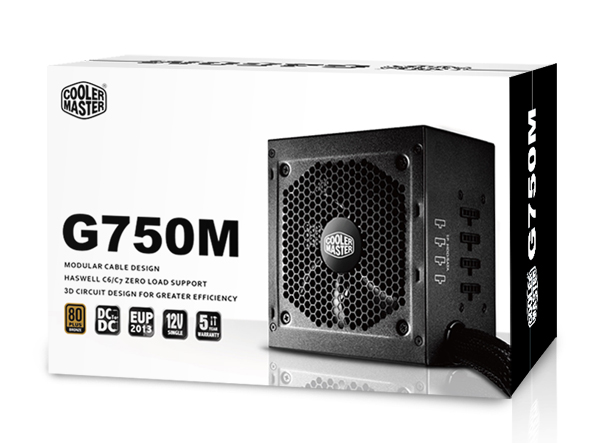Read more about the article Coolermaster GM – 750watt Power Supply